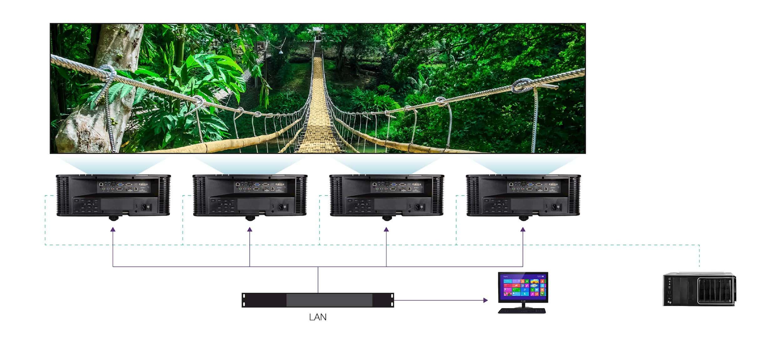 Zintegrowany procesor wygładzania i łączenia krawędzi