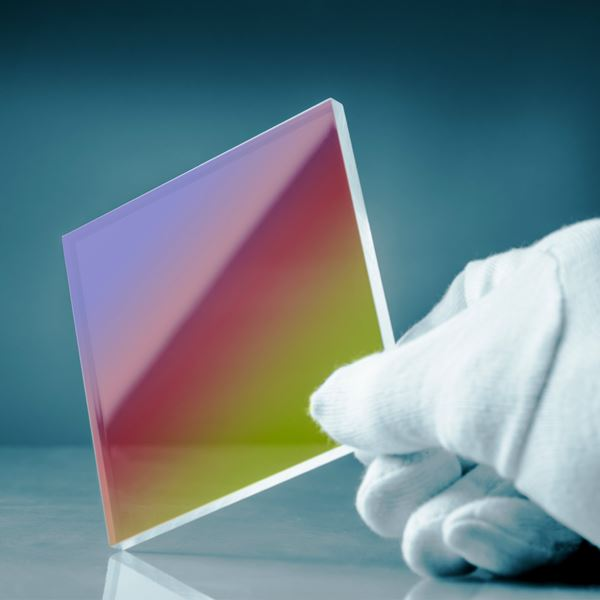 Anti-glare coated glass