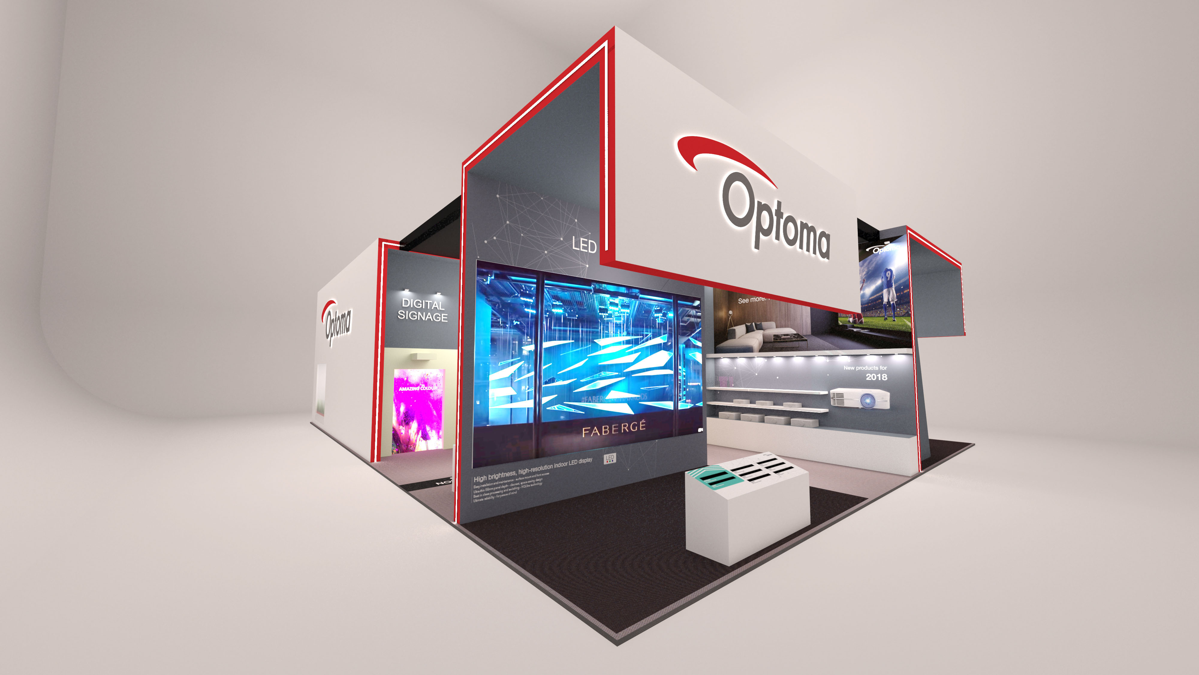 Optoma to unveil new large format LED display range at ISE