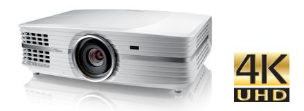 Optoma launches three 4K XPR DLP projectors in US and Europe, UHD60, 65, UHD550X